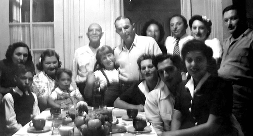 Thansgiving at Edith and Jack's C 1944