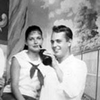 Irene Serkin and Joel Palisades Park, 1957