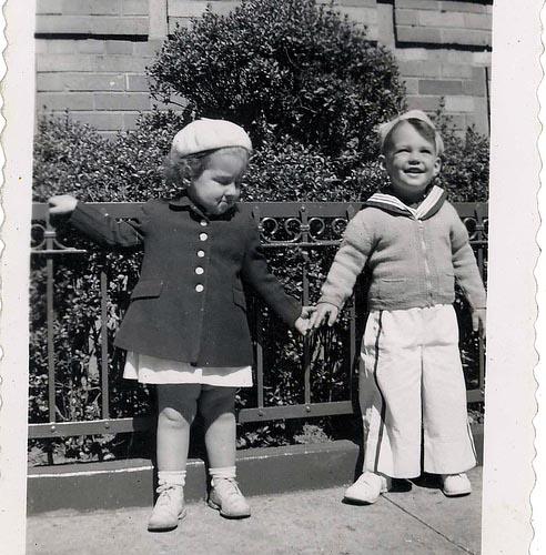 Me and girl 1943